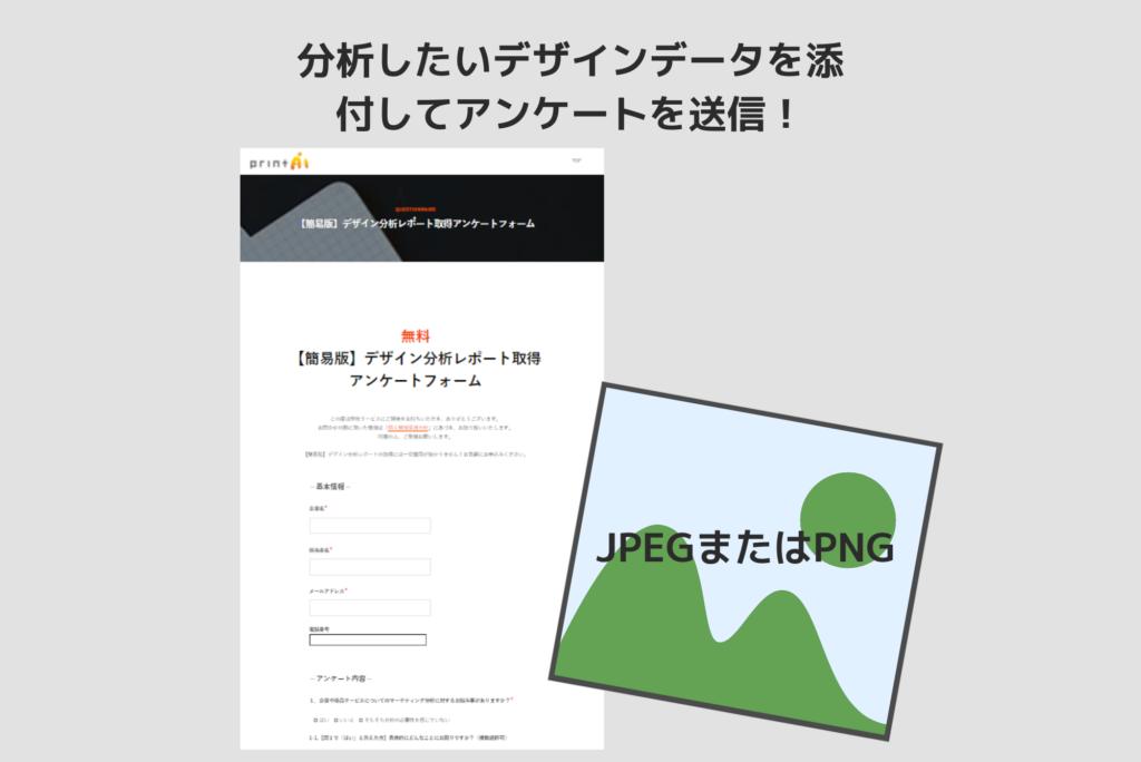 アンケート送信でAIデザイン分析無料